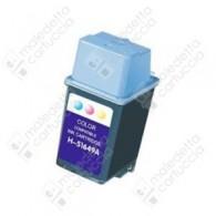 Cartuccia Ricostruita HP 49 Grande - 51649AE - Colori