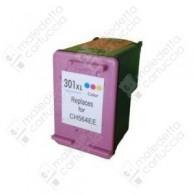 Cartuccia Ricostruita HP 301XL - CH564EE - Colori