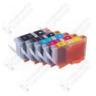 Cartuccia Compatibile CANON BCI-6BK - 4705A002 - Nero