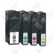 Cartuccia Compatibile LEXMARK 100XL - 14N1070E - Magenta