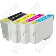 Cartuccia Compatibile EPSON 27XL,T2713 - C13T27134010 - Magenta - 10.4ml