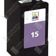 Cartuccia Ricostruita LEXMARK 15 - 18C2110E - Colori