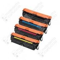 Toner Compatibile HP 651A - CE342A - Giallo - 16.000 Pagine