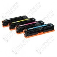 Toner Compatibile HP 130A - CF353A - Magenta - 1.000 Pagine