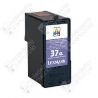 Cartuccia Ricostruita LEXMARK 37XL - 18C2180E - Colori