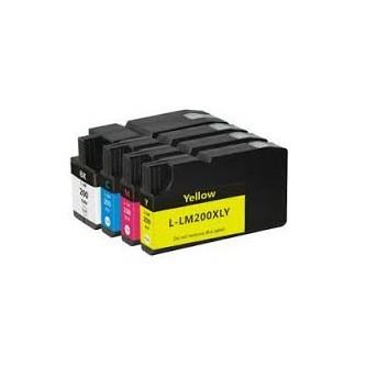 Cartuccia Compatibile LEXMARK 200XLA - 14L0198 - Ciano - 32ml - 1.600 Pagine