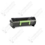 Toner Compatibile LEXMARK 502H - 50F2H00 - Nero - 5.000 Pagine
