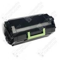 Toner Compatibile LEXMARK 522H - 52D2H00 - Nero - 25.000 Pagine