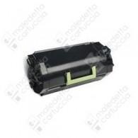 Toner Compatibile LEXMARK 622H - 62D2H00 - Nero - 25.000 Pagine