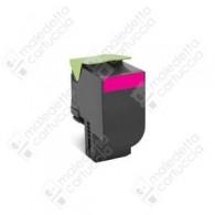 Toner Compatibile LEXMARK 802SM - 80C2SM0 - Magenta - 2.000 Pagine