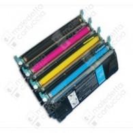 Toner Compatibile LEXMARK C52X - C5220CS - Ciano - 5.000 Pagine