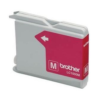 Cartuccia Originale BROTHER LC1000M - Magenta - 400 Pagine