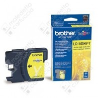 Cartuccia Originale BROTHER LC1100HYY - Giallo - 700 Pagine