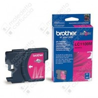 Cartuccia Originale BROTHER LC1100M - Magenta - 325 Pagine