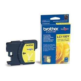Cartuccia Originale BROTHER LC1100Y - Giallo - 325 Pagine