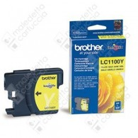 Cartuccia Originale BROTHER LC1100Y - Giallo - 325 Pagine
