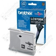 Cartuccia Originale BROTHER LC970BK - Nero - 350 Pagine