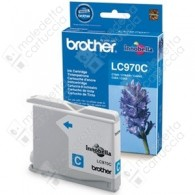 Cartuccia Originale BROTHER LC970C - Ciano - 300 Pagine