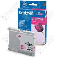 Cartuccia Originale BROTHER LC970M - Magenta - 300 Pagine