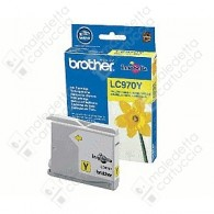 Cartuccia Originale BROTHER LC970Y - Giallo - 300 Pagine