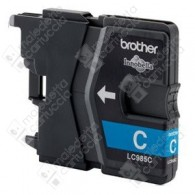 Cartuccia Originale BROTHER LC985C - Ciano - 260 Pagine