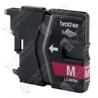 Cartuccia Originale BROTHER LC985M - Magenta - 260 Pagine