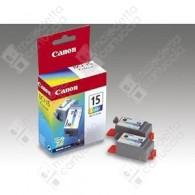Cartuccia Originale CANON BCI-15C - 8191A002 - Colori - Dual Pack