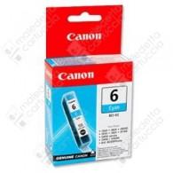 Cartuccia Originale CANON BCI-6C - 4706A002 - Ciano - 13ml - 280 Pagine