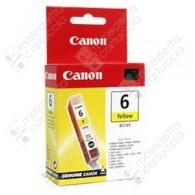 Cartuccia Originale CANON BCI-6Y - 4708A002 - Giallo - 13ml - 280 Pagine