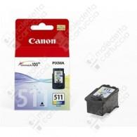 Cartuccia Originale CANON CL-511 - 2972B001 - Colori - 9ml - 244 Pagine
