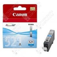 Cartuccia Originale CANON CLI-521C - 2934B001 - Ciano - 9ml - 446 Pagine