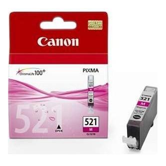 Cartuccia Originale CANON CLI-521M - 2935B001 - Magenta - 9ml - 446 Pagine