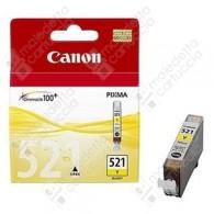 Cartuccia Originale CANON CLI-521Y - 2936B001 - Giallo - 9ml - 446 Pagine