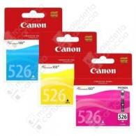 Cartuccia Originale CANON CLI-526 MultiPack - 4541B009 - Colori - Multi Pack - 3 x 9ml