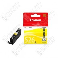Cartuccia Originale CANON CLI-526Y - 4543B001 - Giallo - 9ml - 515 Pagine