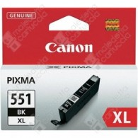 Cartuccia Originale CANON CLI-551BKXL - 6443B001 - Nero Photo - 11ml