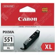 Cartuccia Originale CANON CLI-551GXL - 6447B001 - Grigio - 11ml