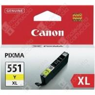 Cartuccia Originale CANON CLI-551YXL - 6446B001 - Giallo - 11ml