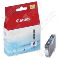 Cartuccia Originale CANON CLI-8PC - 0624B001 - Ciano Light - 13ml