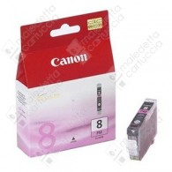 Cartuccia Originale CANON CLI-8PM - 0625B001 - Magenta Light - 13ml