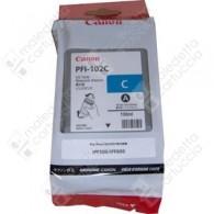 Cartuccia Originale CANON PFI-102C - 0896B001 - Ciano - 130ml