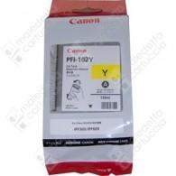 Cartuccia Originale CANON PFI-102Y - 0898B001 - Giallo - 130ml