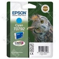 Cartuccia Originale EPSON T0792 - C13T07924010 - Ciano - Gufo - 11.1ml
