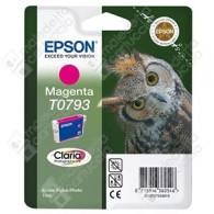 Cartuccia Originale EPSON T0793 - C13T07934010 - Magenta - Gufo - 11.1ml