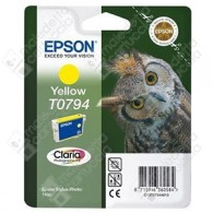 Cartuccia Originale EPSON T0794 - C13T07944010 - Giallo - Gufo - 11.1ml
