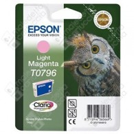 Cartuccia Originale EPSON T0796 - C13T07964010 - Magenta Light - Gufo - 11.1ml