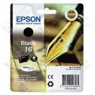 Cartuccia Originale EPSON 16,T1621 - C13T16214010 - Nero - Penna e Cruciverba - 5.4ml