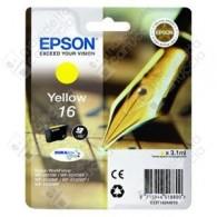 Cartuccia Originale EPSON 16,T1624 - C13T16244010 - Giallo - Penna e Cruciverba - 3.1ml