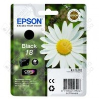 Cartuccia Originale EPSON 18,T1801 - C13T18014010 - Nero - Margherita - 5.2ml