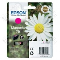 Cartuccia Originale EPSON 18,T1803 - C13T18034010 - Magenta - Margherita - 3.3ml